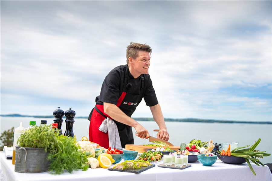 厨师帕斯烹饪,摄影师Anssi Tiusanen ©VisitFinland