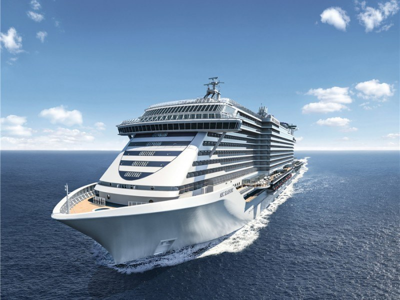 图一:MSC地中海海际线号将在加勒比地区开启她的首个冬季航季