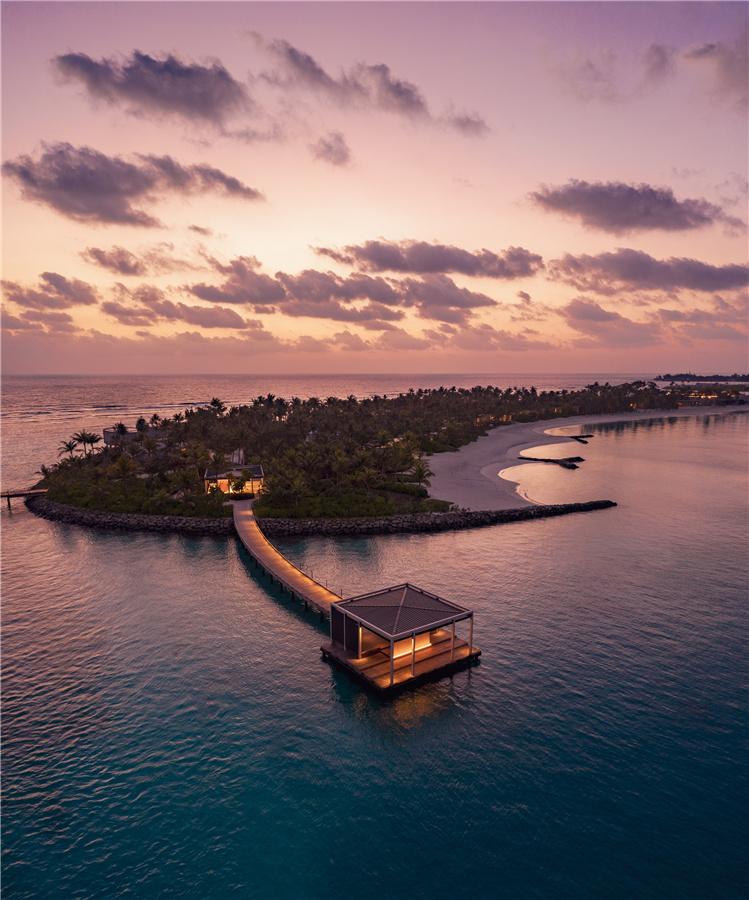 马尔代夫丽思卡尔顿酒店_迎宾码头