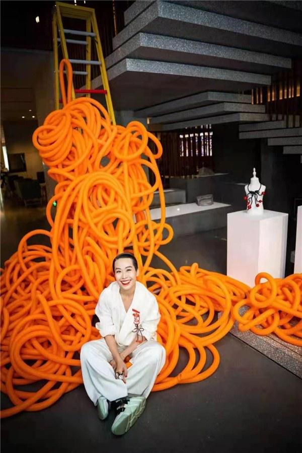 Tera Feng at The Sukhothai Shanghai